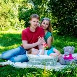 Семейная фотосессия, детский и семейный фотограф Вадим Толстой, Новосибирск