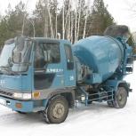 Бетон, раствор, доставка миксерами, Новосибирск