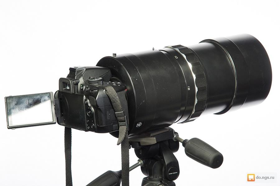 Как сделать телескоп из объектива