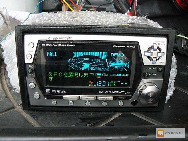 pioneer fh p8000bt installation manual