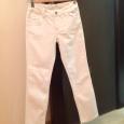 Джинсы белые для девочки 9-10 лет + джинсовая курточка, рост 146 см, Новосибирск