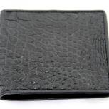 Мужской кошелёк из кожи крокодила, Новосибирск