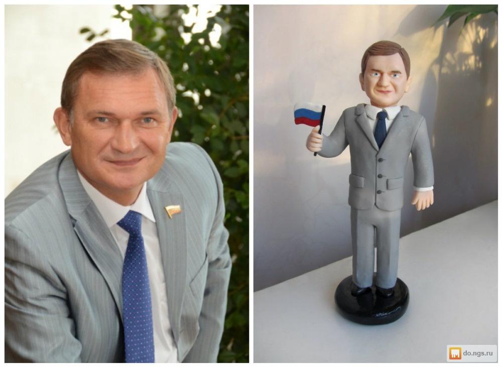 Кукла шарж на заказ по фотографии Цена - 7500.00 руб., Новосибирск - НГС.ОБЪЯВЛЕНИЯ