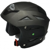 """Шлем для сноубордa Vega Solid """"титановый"""" матовый, Новосибирск"""