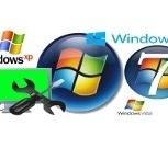 Установка и настройка WINDOWS XP, WINDOWS 7, Новосибирск
