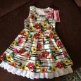 Платье в цветок для девочки, Новосибирск