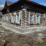 Подниму дом. Ремонт фундамента. Винтовые и буронабивные сваи под дом., Новосибирск