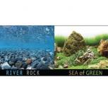 Аквариумный фон  Rive Rock/Sea of Green, Новосибирск