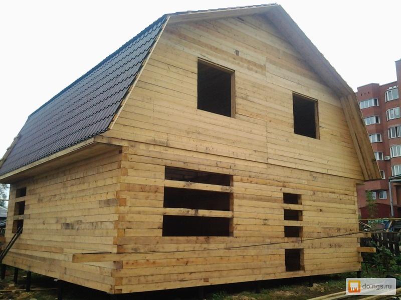 Строительство бани своими руками от фундамента до крыши из бруса