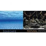 Аквариумный фон  Seascape/Natural Mystic, Новосибирск