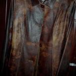 Продам новую кожаную куртку. 46, Новосибирск