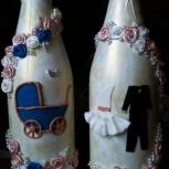 Оформление бутылок в подарок, Новосибирск