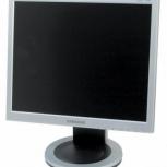 """Продам монитор LCD 17"""" Samsung, полный комплект, гарантия, документы, Новосибирск"""