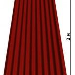 Битумный шифер Corrubit  (Турция) лист, Новосибирск