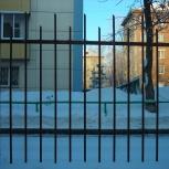 Металлические ограждения. Ограждения для дачи.Заборы,ворота, Новосибирск