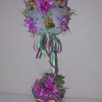 цветочный топиарий - оригинальный подарок ручной работы, Новосибирск