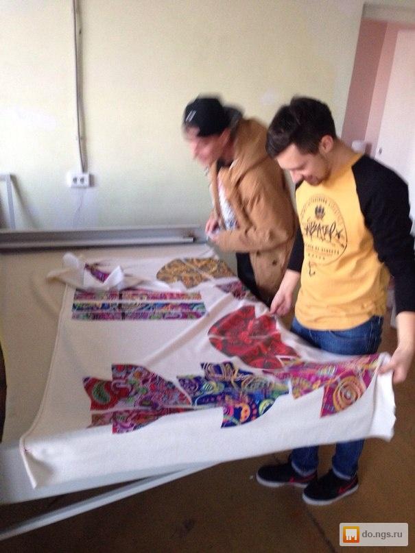 Рисунок шелкография печать