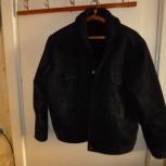 Куртка джинсовая MOTOR дублёнка. Искусственный мех, Новосибирск