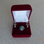 серьги и кольцо комплектом, Новосибирск