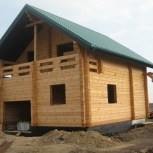 Дом из профилированного бруса 9х7,5м от производителя под заказ, Новосибирск