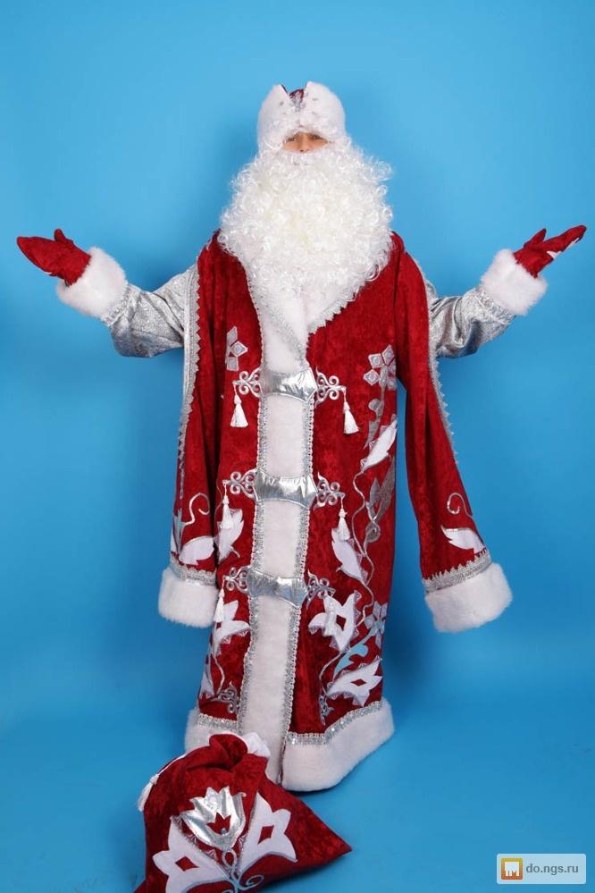 Костюм своими руками костюм деда мороза и снегурочки