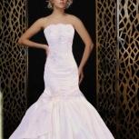 Новое свадебное платье силуэт рыбка/русалка, Новосибирск