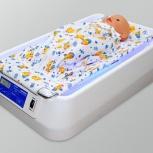 Лечение желтухи новорожденных. Лампа фототерапии (ванночка), Новосибирск