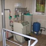 монтаж, ремонт газовых и электрокотлов, монтаж систем отопления, Новосибирск