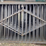 Забор сварной с монтажом, Новосибирск
