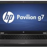 Ноутбук HP G7-1201ER AMD A6 3400M X4, Новосибирск