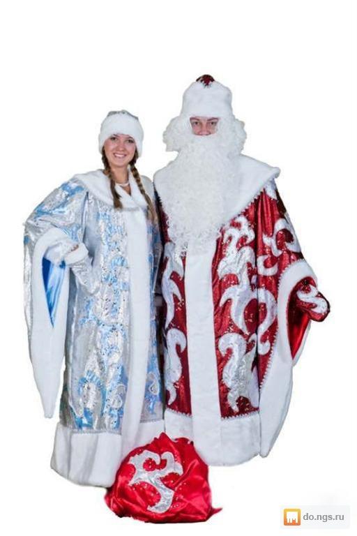Костюм Деда Мороза И Снегурочки Купить