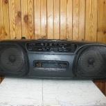 Продам стереофонический кассетный магнитофон с радиоприемником, Новосибирск