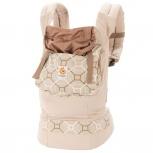 Эрго рюкзак (слинг рюкзак) бежевый геометрия, Новосибирск