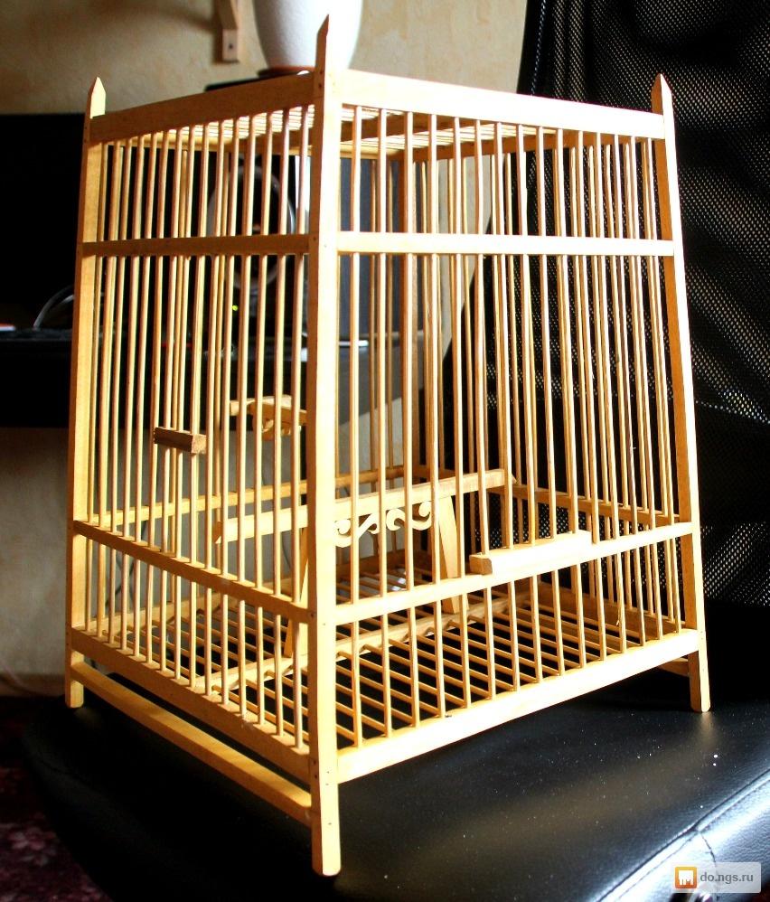 Как сделать деревянные клетки 284