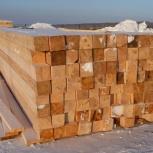 Брус зимний 100 на 150 мм обрезной м3, Новосибирск