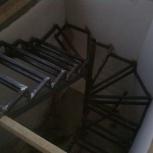 Лестница для дома с монтажом (каркас)  высота 3,5 метра, Новосибирск