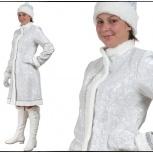 Продам костюм снегурочки новый серебристый, Новосибирск