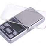 Весы ювелирные электронные 0,01-200 гр. Миниатюрные косметике, Новосибирск