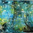 Мастер-класс эбру: магия рисования на воде, Новосибирск