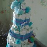 Готовый торт из памперсов, Новосибирск
