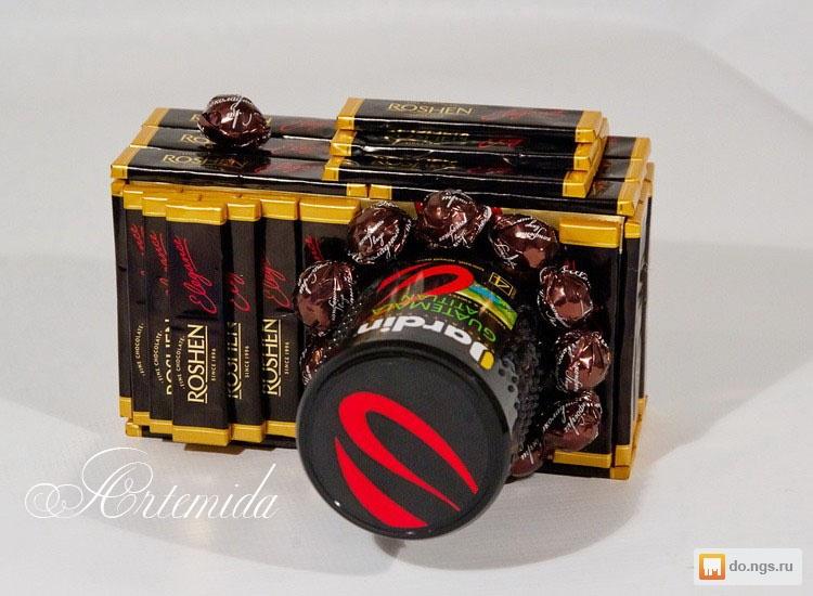 Креативный подарок из конфет своими руками 24