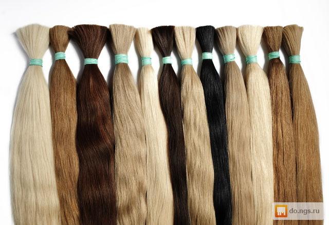 Купить волосы для наращивания славянские