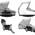 Продам 3-колесную коляску-вездеход Bebecar 2 в 1. Португалия, Новосибирск