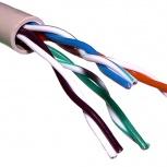 Продам кабель UTP 5e cat. 4 и 8 жил, RG-кабель и др., Новосибирск