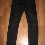 Продам джинсы для беременных черного цвета, р. 46-50 новые, Новосибирск
