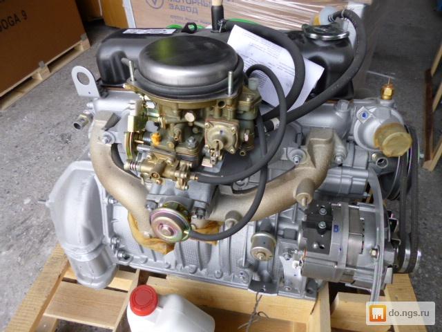 Двигатель нового уаза