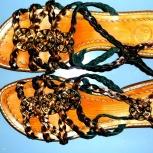 Босоножки - римские сандали пр-во Италия р.37, Новосибирск