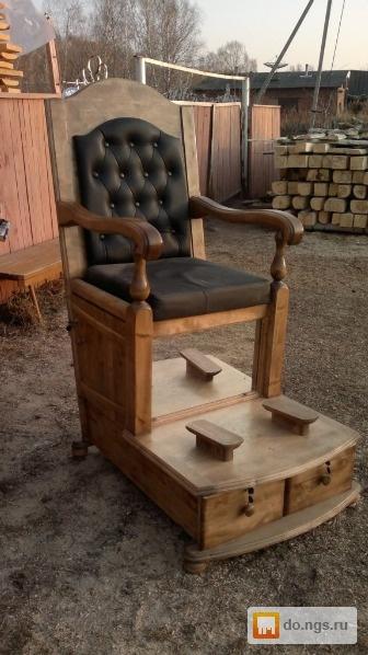 Кресло для чистки обуви своими руками 58