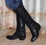 продам сапоги женские размер 38 (щиколотка 36см), Италия, Новосибирск
