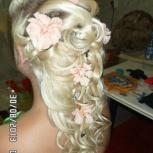 услуги парикмахера, свадебные вечерние прически, макияж, Новосибирск